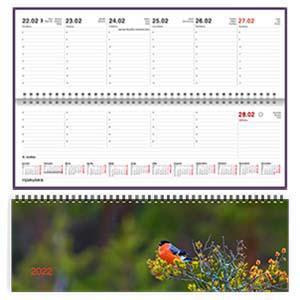 Galda kalendārs EKO BOSS autumn,  2017g.