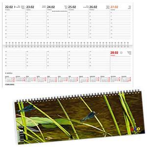 Galda kalendārs EKO BOSS summer,  2018g.