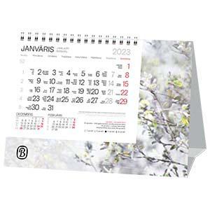 *Galda kalendārs EKO FORTE ar spirāli,  2018g.