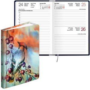 Kabatas kalendārs EKO Mono Flex,  laminētie vāki,  Contrast