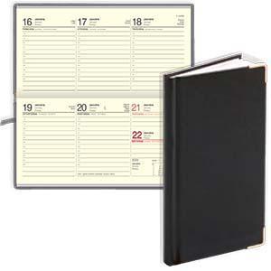 *Kabatas kalendārs EKO Lady melns