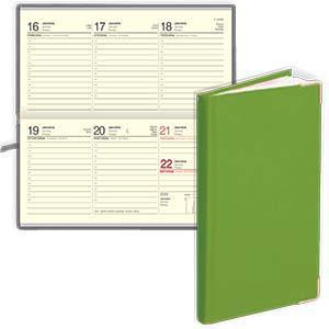*Kabatas kalendārs EKO Lady gaiši zaļš
