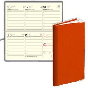 *Kabatas kalendārs EKO Lady oranžs
