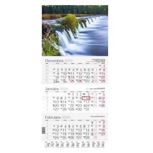 Sienas kalendārs EKO Primus Upe,  2020g.