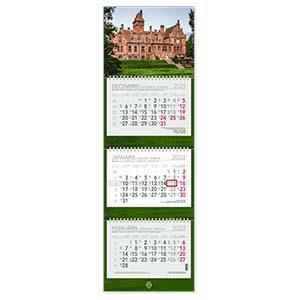 *Sienas kalendārs EKO Trio Plus,  2018g.