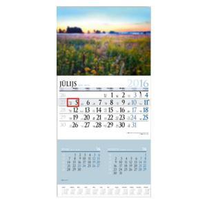 Sienas kalendārs EKO Bonus