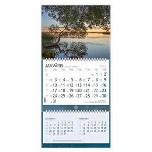 Sienas kalendārs EKO Solo Plus,  2017g.