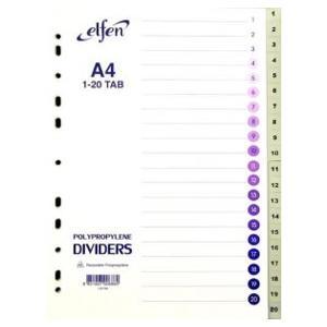 Sadalītājs A4/1-20 ELFEN