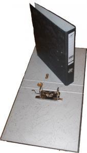 Reģistrs MARMOR A4/50mm melns