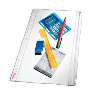 Кармашек для документов ESSELTE A4, закрывающийся, 1 шт
