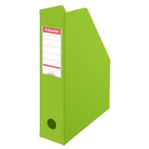 Dokumentu bokss ESSELTE VIVIDA 70mm/A4 laima krāsa