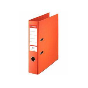 Reģistrs A4/75mm,  oranžs,  ESSELTE No.1 Power