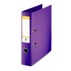 Reģistrs A4/75mm,  violets,  ESSELTE No.1 Power