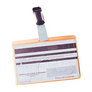Personas karte FELLOWES ar metāla klipsi 90x60mm 50gab.