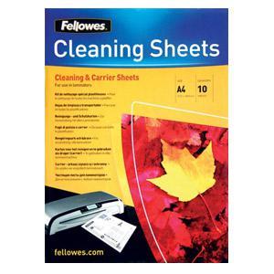 Laminētāja tīrīšanas 10 lapas FELLOWES
