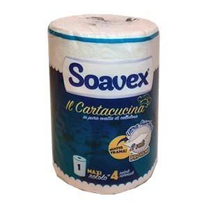 Dvieļi-papīra d16x23cm,  2 kārtas,  celuloze,  SOAVEX