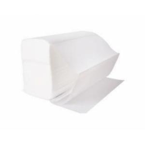 Dvieļi-salvetes 21.5x24cm,  2 slāņi,  150 salvetes,  baltas