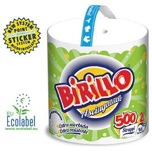 Dvieļi BIRILLO,  110m,  2 slāņi,  celluloze,  balti