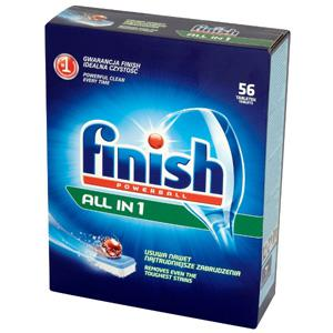 Tabletes trauku mašīnām FINISH ALL in 1,  50 gab.