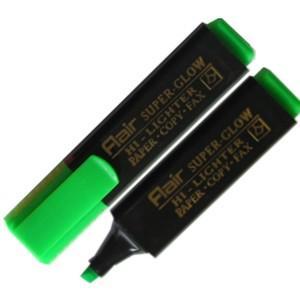Teksta marķieris FLAIR Super-Glow zaļš