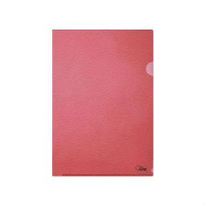 Папка-уголок матовая FORPUS красная
