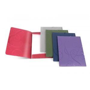 Mape BAROCCO ar gumiju A4,  violeta