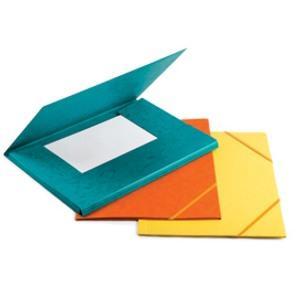 Mape FORPUS A4 kartona ar gumiju sarkana