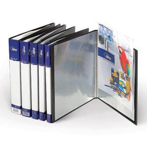 Mape FORPUS A4 40 kabatas,  melna