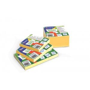 Līmlapiņas 51x76 dzeltenas, 100 lap.