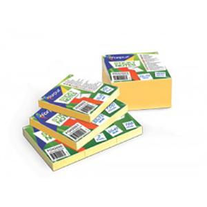 Līmlapiņas 76x76mm,  400 lapas,  dzeltena krāsa