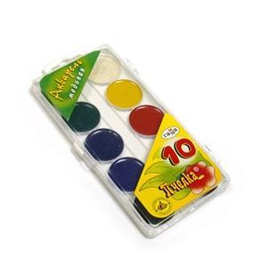 Akvareļkrāsas Gamma 10 krāsas BITĪTE