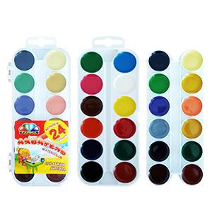Akvareļkrāsas 24 krāsas UA Gamma