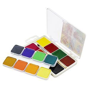Akvareļkrāsas 16 krāsas UA Gamma