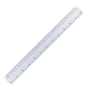 Lineāls 30cm alumīnija  GR-112-30 GRAND