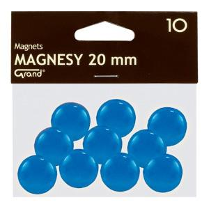 Magnēti 20 mm,  zila krāsa