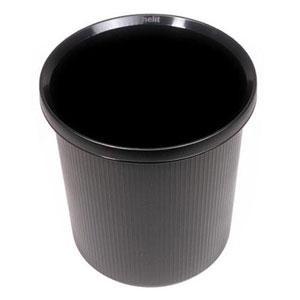 Papīrgrozs HELIT 18L melns