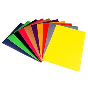 Krāsains papīrs A3/80g/m2 50 loksnes,  koraļkrāsa