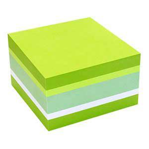 Līmlapiņas INFO 75x75mm/450lp.zaļas krāsas