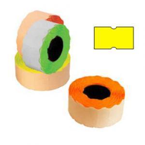 Marķēšanas lente 21.5x12mm dzeltena,  1000uzl./rul.