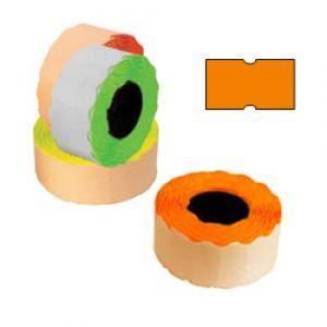 Marķēšanas lente 21.5x12mm oranža,  1000uzl./rul.