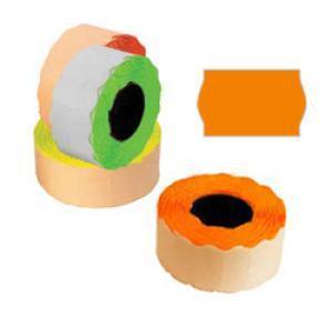 Marķēšanas lente 26x16mm oranža,  1000uzl./rul.