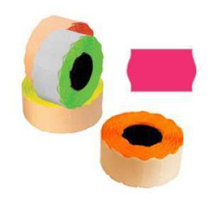 Marķēšanas lente 26x16mm rozā,  1000uzl./rul.