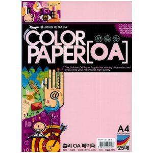 Papīrs ID41Y1-05 rozā krāsa A4/25lp. 80g