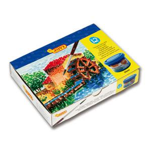 *Guaša krāsas 12 krāsas x 35 ml