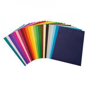 Krāsains papīrs A4,  225g. 25 loksnes,  saulains dzeltens
