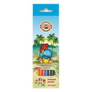 Zīmuļi krāsainie 18 krāsas,  Dzivnieki KOH-I-NOOR