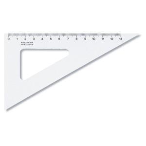 Trīsstūris KOH-I-NOOR 13cm/60* caurspīdīgs