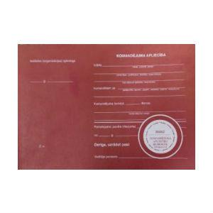 Komandējuma apliecības bloks A5,  100 lapas