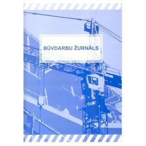Būvdarbu žurnāls A4/124lpp.