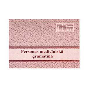 Personas medicīnas grāmata A6